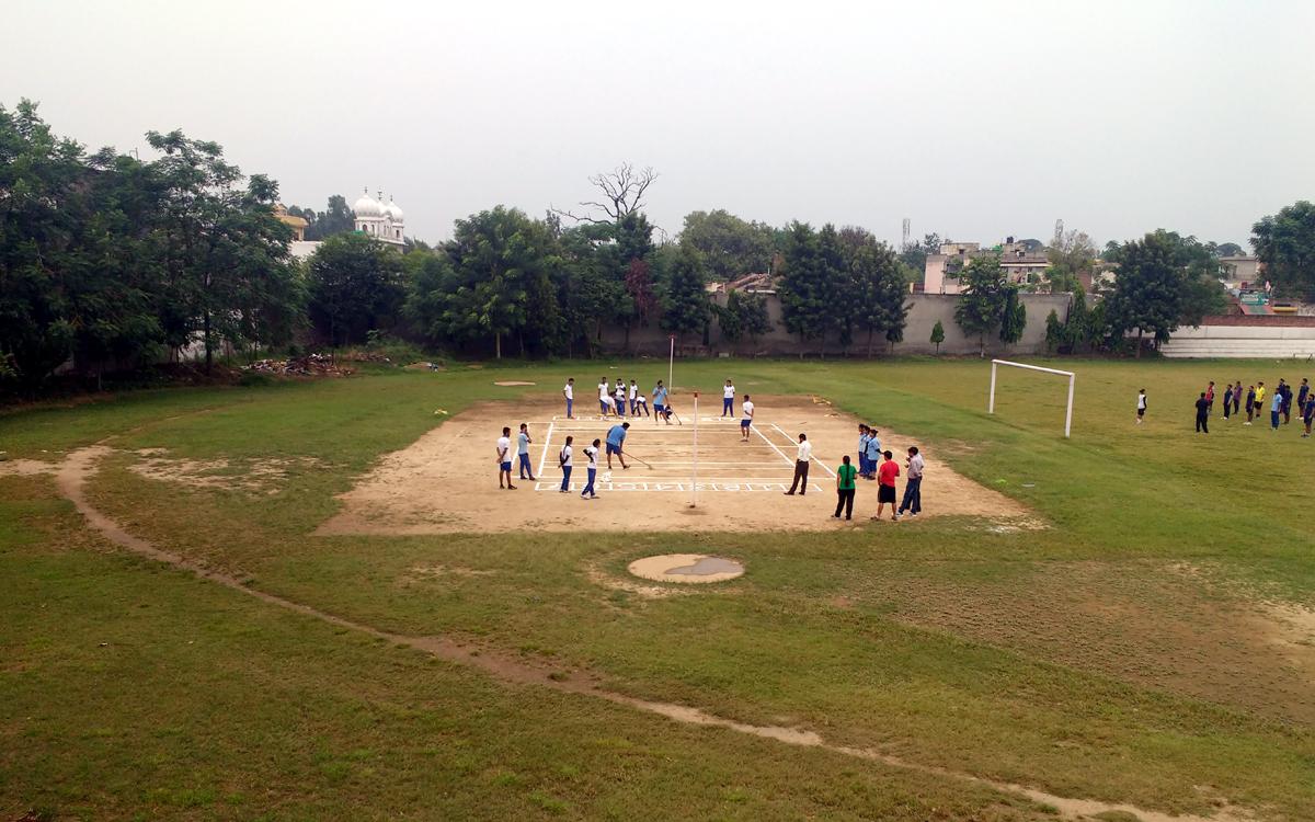 Maintain the Kabaddi Ground